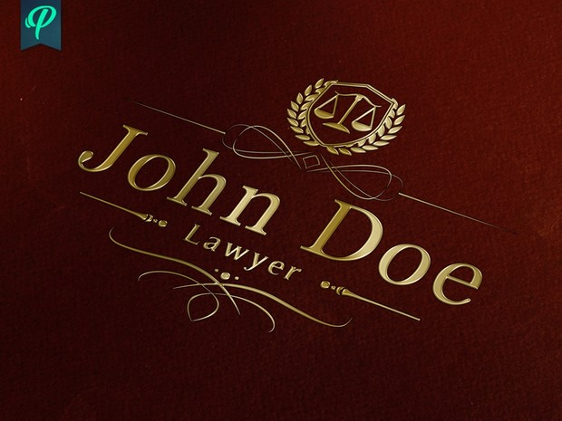 Lawyer, Attorney, Abogado Logo Template