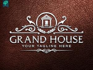Grand House - Luxury Real Estate Logo