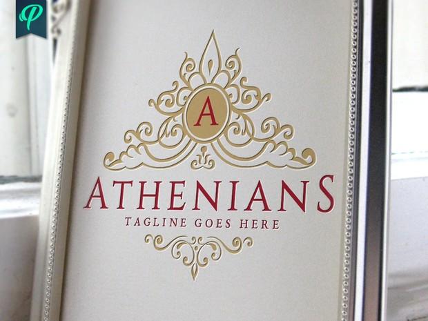 Athenians - Luxury Vintage Logo Template