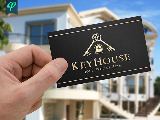 KeyHouse - Real Estate Logo Template