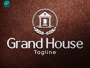 Grand House - Luxury Real Estate Logo