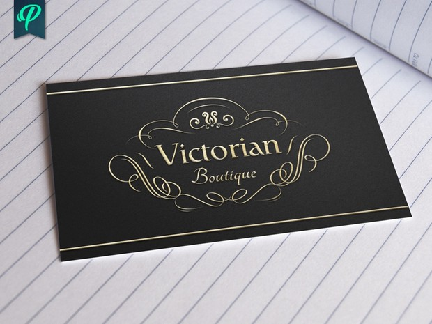 Victorian Boutique Logo Template