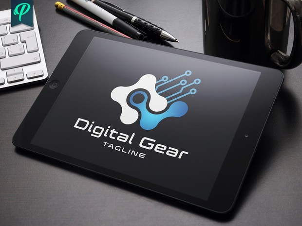 Digital Gear - Modern Logo Template
