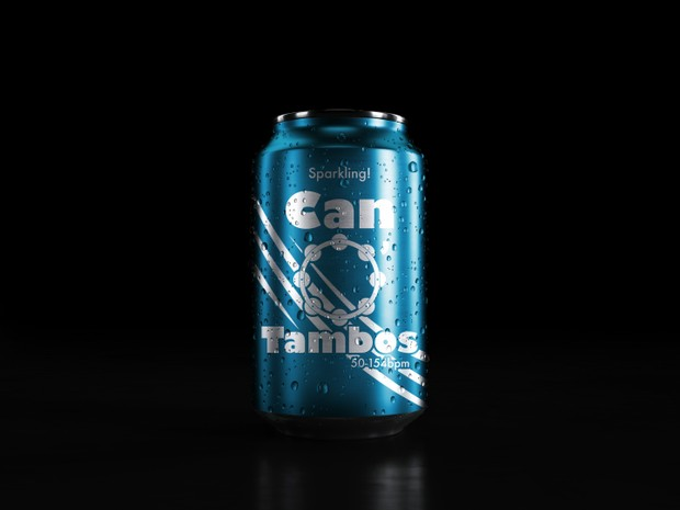 Can O' Tambos (blue edition) EVERY TEMPO from 50-154bpm