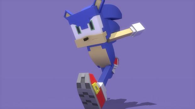 Minecraft Sonic Rig - Carro1001