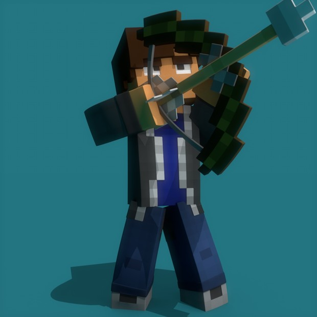 Bow and Arrow Model by @CarroAnimates