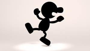 Mr Game & Watch Rig