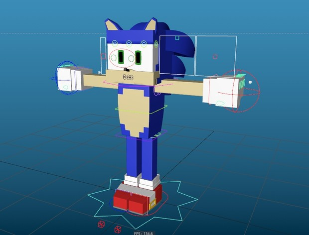 NEW Minecraft Sonic Rig