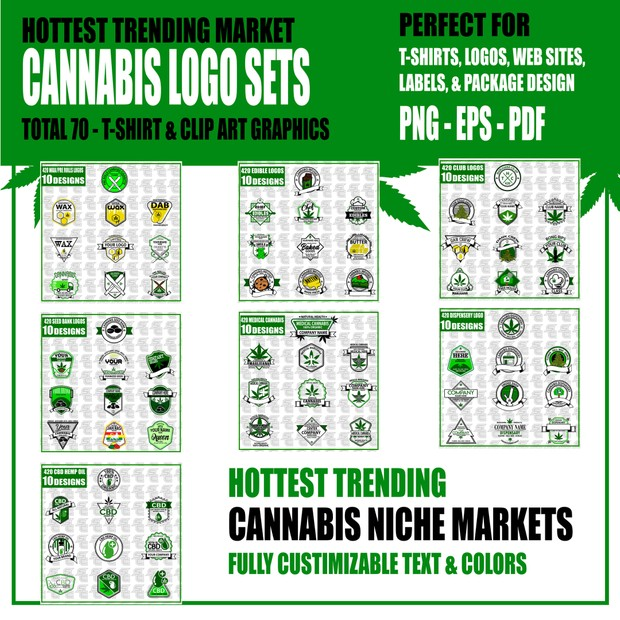 420 Marijuana Cannabis Mega Bundle