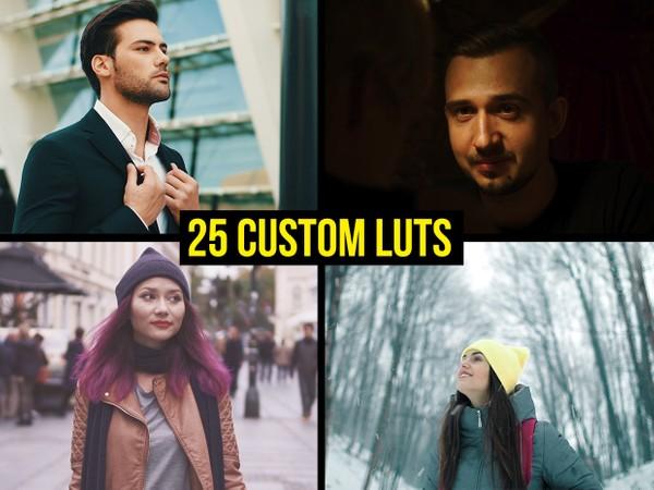 25 of my most popular custom LUTs