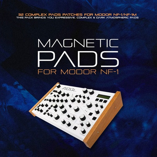 MODOR NF-1: MAGNETIC PADS. Dark & atmospheric patches
