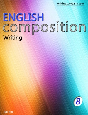 Writing composition book 8
