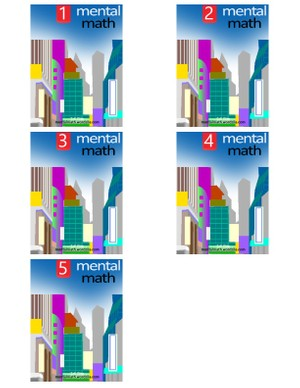 Mental Math All 5 Books