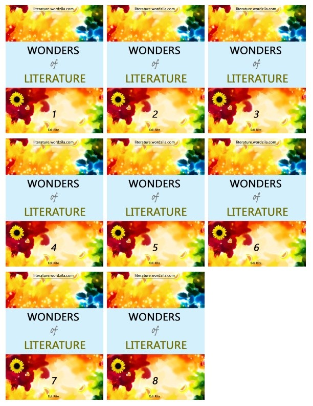 Wonders of Literature All Grades (1 to 8)