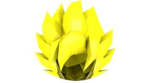 Cabelo Do Goku SSJ (Goku SSJ Hair)