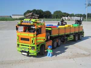 Stone Trailer Truck