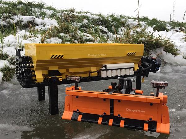 Salt Spreader & Snow Plow