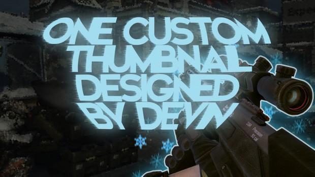 One Custom YouTube Thumbnail Designed by Me!