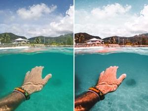 Curt Barter Underwater Lightroom Preset