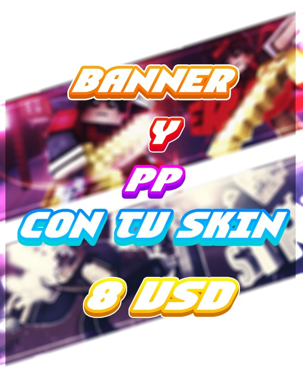 Banner Y  PP Con tu Skin