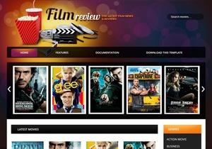 Film Reviews Blogger Template Premium Version