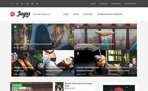 Jugas Blogger Template Premium Version