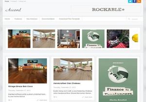 Accord Blogger Template Premium Version