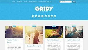 Gridy Blogger Template Premium Version