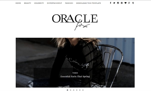 Oracle Blogger Template Premium Version
