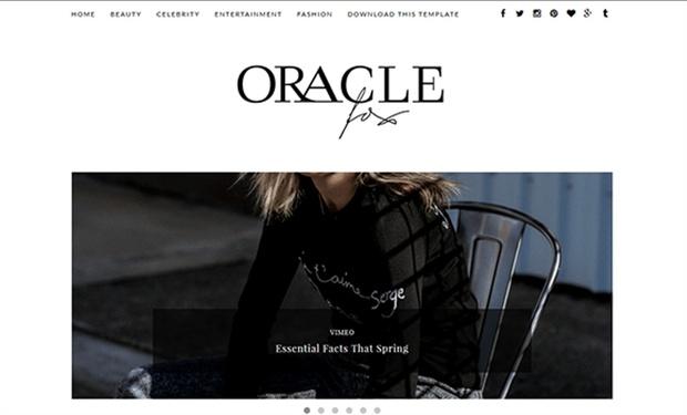 Oracle Blogger Template Premium Version