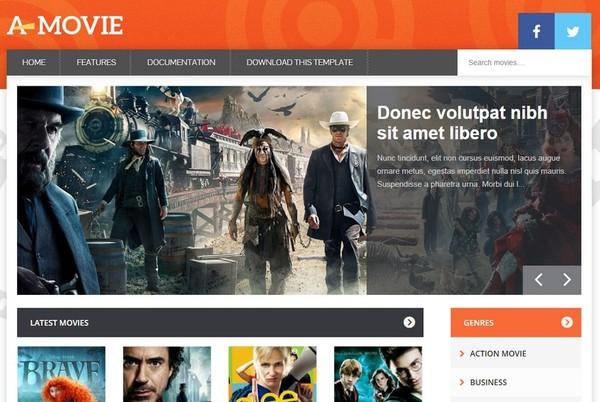 Movie Blogger Template Premium Version