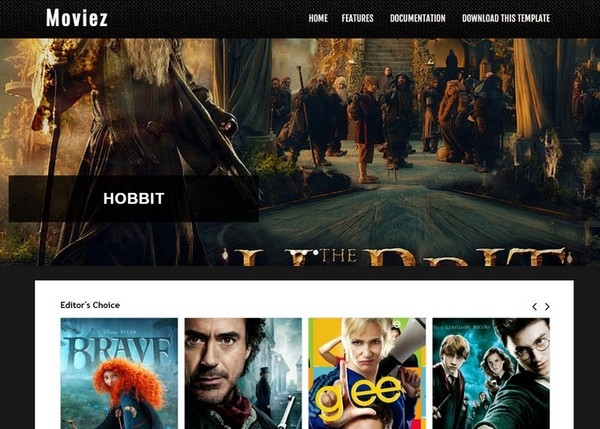 Moviez Blogger Template Extended Version