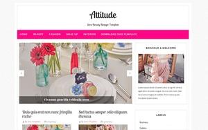 Attitude Blogger Template Premium Version