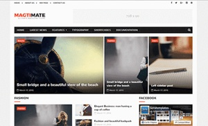 MagtiMate Blogger Template Premium Version