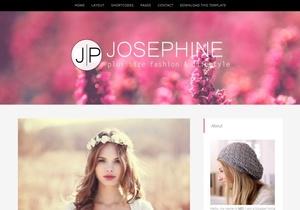 JosePhine Blogger Template Premium Version
