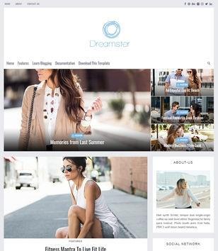 Dreamster Blogger Template Premium Version