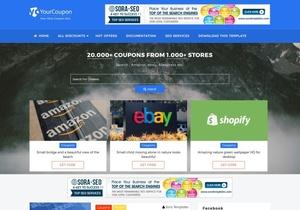 Your Coupon Blogger Template Premium Version