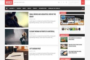 Meed Blogger Template Premium Version