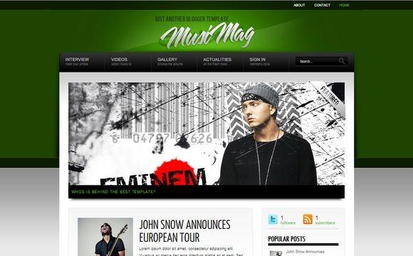 MusiMag Green Premium Version