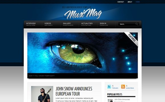 MusiMag Blue Premium Version