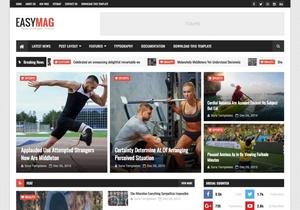 Easy Mag Blogger Template Premium Version