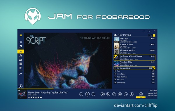 JAM HD for foobar2000 - v1.7.3
