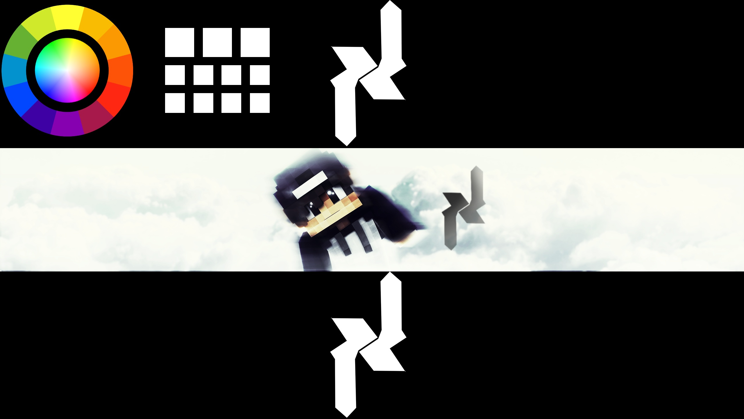Custom Minecraft Channel Art + Profile Picture