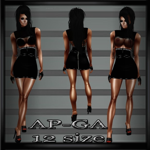 La Paris Outfit AP & GA- Derive in 11 Sizes- Catty ONLY