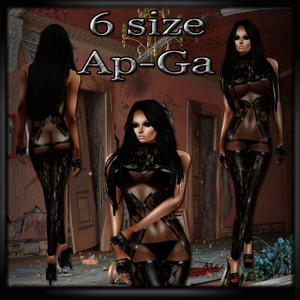Lace X Outfit AP & GA- Derive in 6 Sizes- Catty ONLY