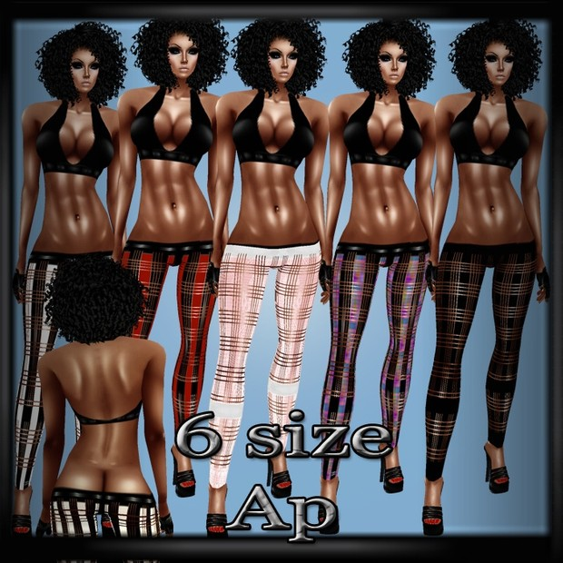 Helln Top & Bottoms AP- Derive in 6 Sizes & 9 Colors- Catty ONLY