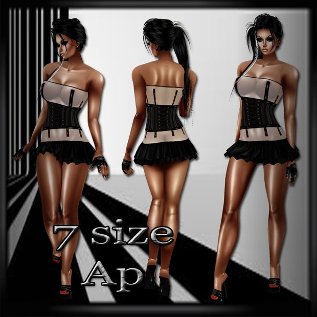 B7W Outfit AP- 7 Sizes- Catty Only