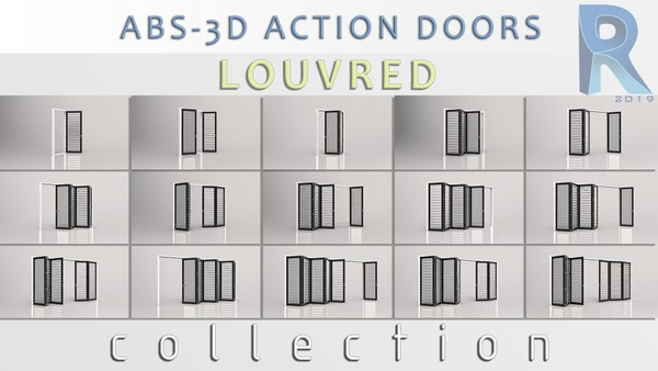 Louvred Doors Collection