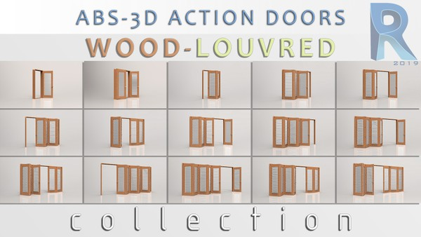Wood-Louvred Doors Collection