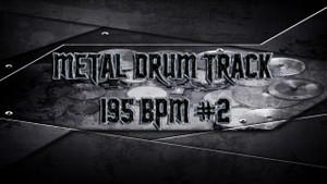 Metal Drum Track 195 BPM #2 - Preset 2.0